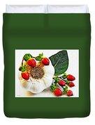 Festive Garlic Duvet Cover