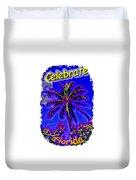 Festive Palm Duvet Cover