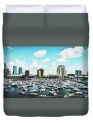 Festive Tampa Bay Duvet Cover