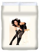 Fetish Pinup Duvet Cover