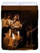 Fhat#39 Enhanced In Amber Duvet Cover