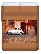 Fiat 500 Duvet Cover