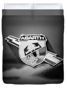 Fiat Abarth Emblem -ck1611bw2 Duvet Cover