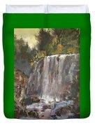 Fictitious Falls Duvet Cover