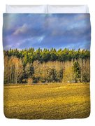 Field And Sky.  Duvet Cover