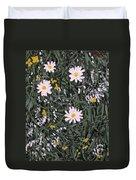 Field Daisies Duvet Cover