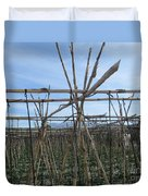 Field In Fornes Duvet Cover