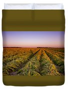 Field Lines Duvet Cover