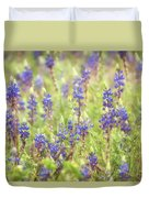 Field Of Blue Lupines  Duvet Cover