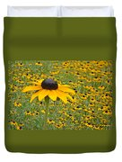 Field Of Coneflowers Duvet Cover