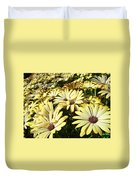 Field Of Daisies Landscape Floral Art Prints Daisy Baslee Troutman Duvet Cover