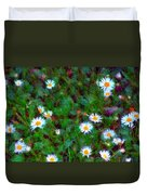 Field Of Daisys  Duvet Cover