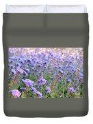 Field Of Lavendar Duvet Cover
