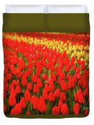 Field Of Tulips Duvet Cover