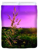 Field Rye And Ear Duvet Cover