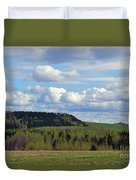 Field To Forest To Hill To Sky Duvet Cover