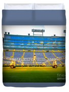 Field View Of Lambeau Duvet Cover