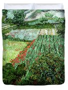 Field With Poppies Duvet Cover