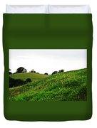 Fields In Glastonbury Duvet Cover