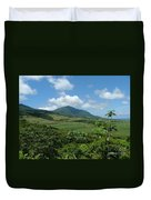 St. Kitts Fields Of Cane Duvet Cover