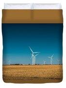 Fields Of Energy Duvet Cover