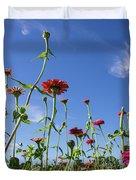 Fields Of Glory Duvet Cover by Valeria Donaldson