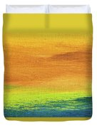 Fields Of Gold 2 - Abstract Summer Landscape Painting Duvet Cover