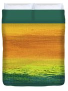 Fields Of Gold 3 - Abstract Summer Landscape Painting Duvet Cover