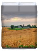 Fields Of Gold, Illinois Duvet Cover