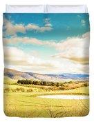 Fields Of Plenty Duvet Cover