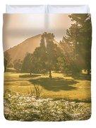 Fields Of Springtime Duvet Cover