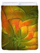 Fiery Glow Duvet Cover