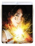 Fiery Jump Start Duvet Cover