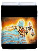 Fiery Justice Duvet Cover