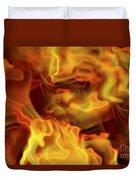 Fiery Mist Duvet Cover