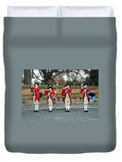 Fifes And Drums Duvet Cover