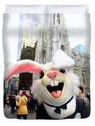 Fifth Ave Easter Bunny Duvet Cover