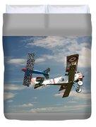 Fighting Colours 2 - Fokker D. Vll - Nieuport Duvet Cover