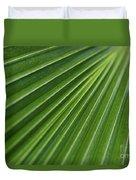 Fiji Fan Palm Duvet Cover