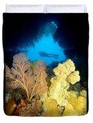 Fiji Underwater Duvet Cover