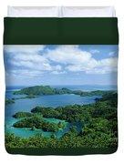 Fiji Vanua Balavu Duvet Cover