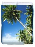 Fiji, Vanua Levu Duvet Cover by Peter Stone - Printscapes