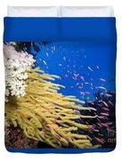 Fijian Reef Scene Duvet Cover