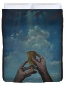Fill My Cup Lord Duvet Cover
