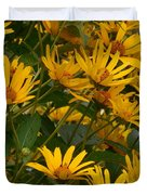 Filled With Sunflowers Horizontal Duvet Cover