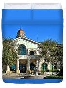 Fillmore City Hall Duvet Cover