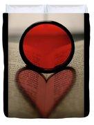 Filter Heart 2 Duvet Cover