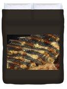 Fin Of Shorthorn Sculpin Duvet Cover