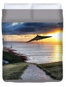 Final Beachy Head Pass Duvet Cover
