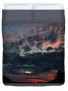 Final Sunset Fling Duvet Cover
